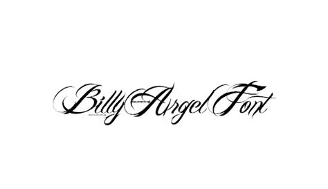 tattoo font billy argel 42 best free tattoo fonts exles dotcave