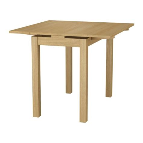 Extendable Dining Table Ikea Ikea Bjursta Extendable Table 2 Pull Out Leaves Included Ideal As An End Table Against A Wall