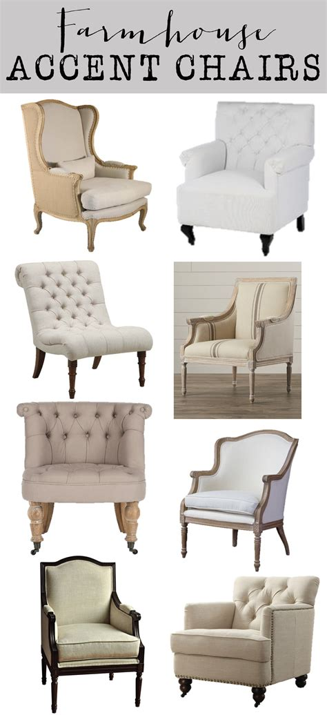 farmhouse chair plans friday favorites farmhouse accent chairs house of hargrove