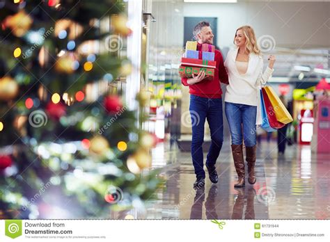 buying christmas gifts stock photo image 61731944