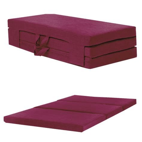 Foam Fold Out by Fold Out Guest Mattress Foam Bed Single Sizes