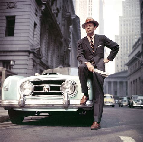 who is the fashion guy in the cadillac commercial william holden wednesday happy thoughts darling