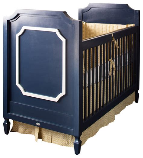 Cots Cribs by Beverly Crib With Moldings Traditional Cots Cribs And