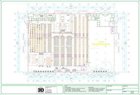 warehouse layout dwg warehouse layouts 3d storage systems