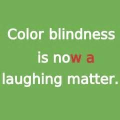 color blind jokes colour blind test joke