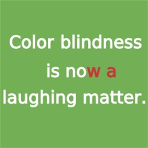color blind jokes colour blind test joke