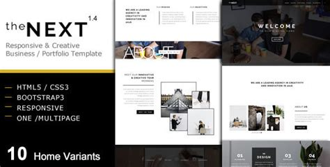 thenext creative business portfolio template  coral