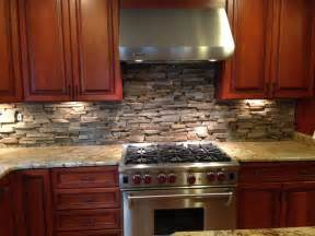Stone Kitchen Backsplash Pictures by Custom Cut Stone Backsplash In Bethesda Md Eclectic