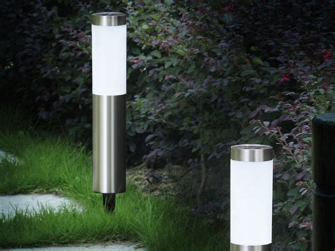 contemporary solar patio light gem