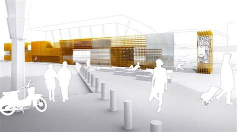kiosk design competition stratford station olympic kiosk competition proposal lgt