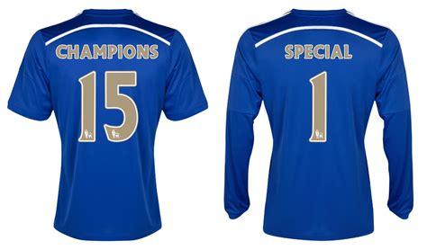 Kaos Chelsea New Cfc 12 chelsea fc release premier league chions shirts