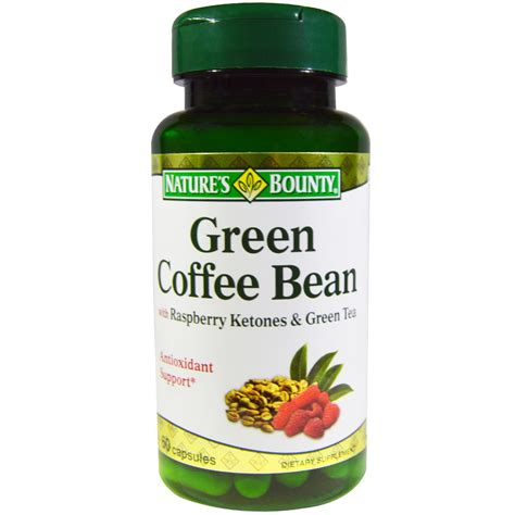 Green Tea Blend Coffee Bean nature s bounty green coffee bean with raspberry ketones