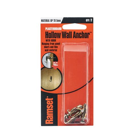 Pin Holow Hollow Kuningan 1 4 6 5mm ramset m4 x 0 5mm hollow wall anchor with hook 2 pack