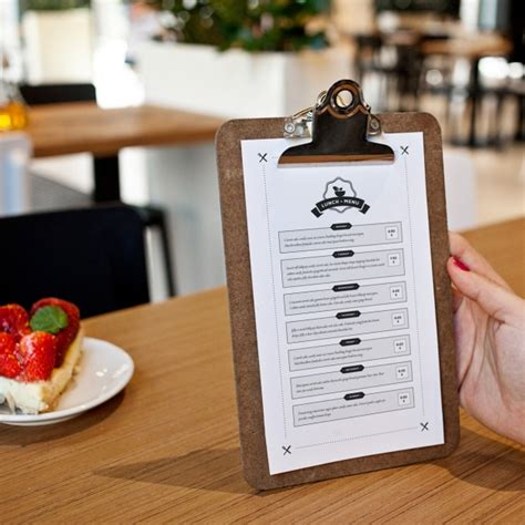 menu design mockup restaurant menu mock up design psd file free download