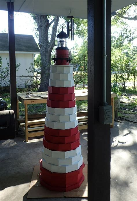lighthouse plans   build  authentic  ft lawn