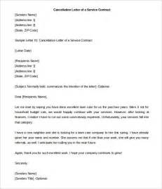 termination of service agreement template contract termination letter template 17 free sle