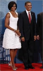 target black friday 2010 michelle obama g20 toronto white dress