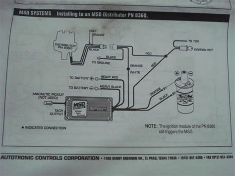 pro comp distributor wiring diagram pro comp distributor