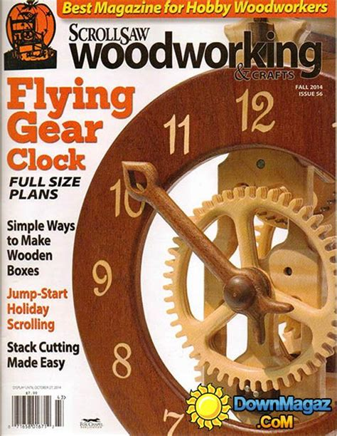 wood pattern magazines scrollsaw woodworking crafts 56 fall 2014 187 download