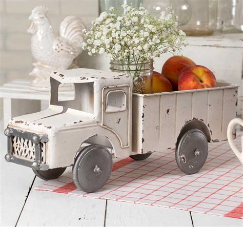 vintage home interior products vintage inspired white truck farmhouse fresh home