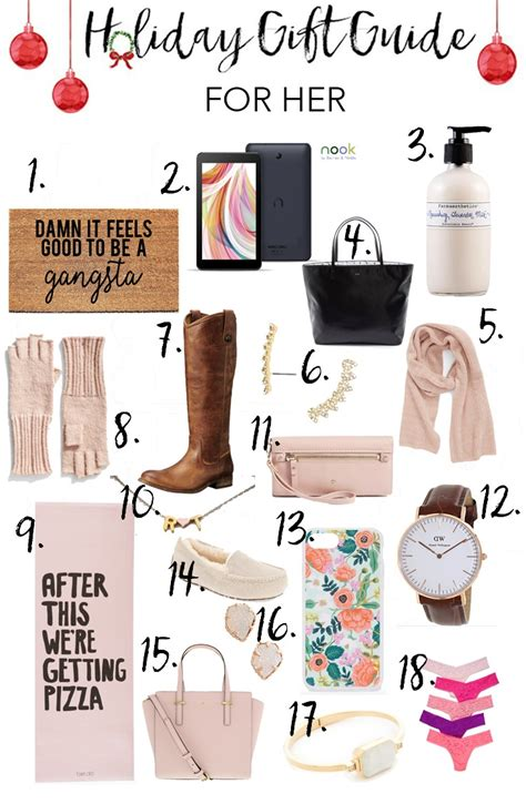 christmas gift ideas for women in their 20s gift guide for mcbride