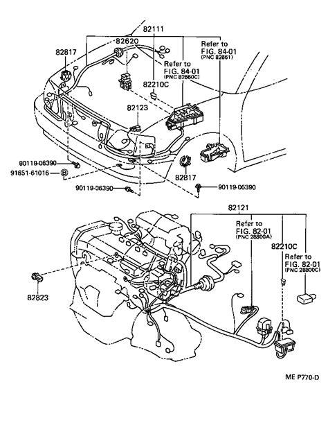 toyota starlet ep82 wiring diagram toyota crown wiring