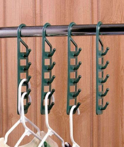 8 Cool Clothes Storage Items by Set Of 4 Space Saving Hangers Home Organizer Clothes