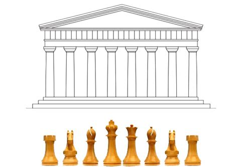 Pieces Of Architecture How The Chess Set Got Its Look And Feel Arts Culture
