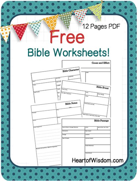Bible Worksheets For by Free Bible Study Worksheets And Printables