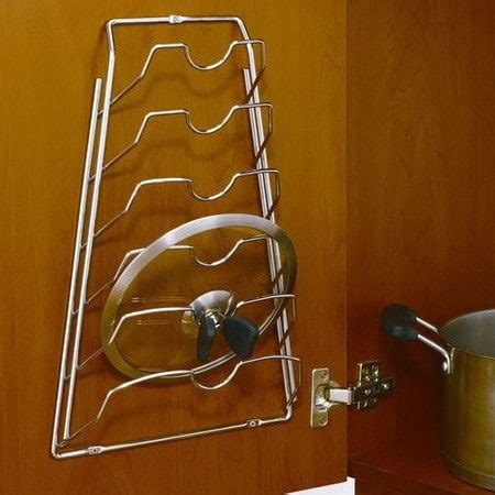 cabinet door lid rack kitchen organization storage ideas 28 organizing
