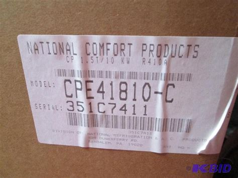 national comfort products national comfort products packaged thru the w new in