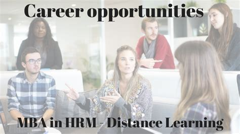 Career After Mba In Hr by Career Options Mba In Hr Distance Learning Distance