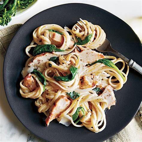 light grilled chicken recipes grilled chicken florentine pasta recipe myrecipes