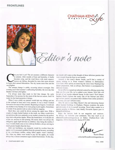 editor s note writing editing exle by ksharp2010