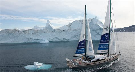 mike horn expedition pangaea mercedes benz - Pangaea Boat Mike Horn