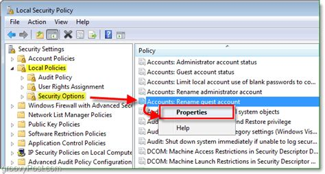 how to rename the windows 7 guest account