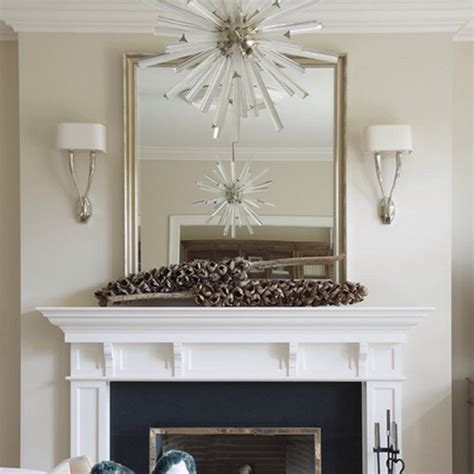 Hanging A Mirror Above A Fireplace by Musely