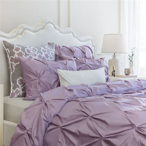 lilac coverlet light purple duvet cover the valencia lilac pintuck