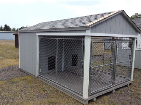 cat and dog in same house 8 x 14 large dog kennel pine creek structures