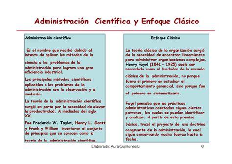 or 237 gen de la administracion cientifica monografias administraci 243 n