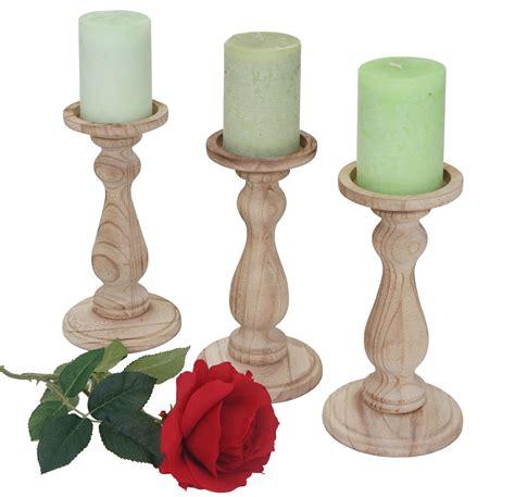 Weiße Holz Kerzenständer by Kerzenst 228 Nder Used Look Bestseller Shop Mit Top Marken