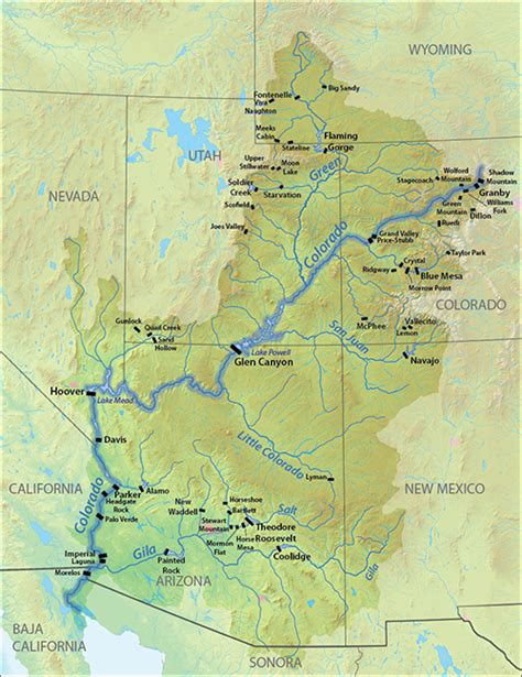 where is the colorado river located on a map hiking the colorado river headwaters in rocky mountain