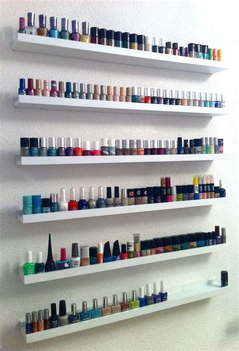 ikea nails ribba ikea i need a nail polish rack creative ideas
