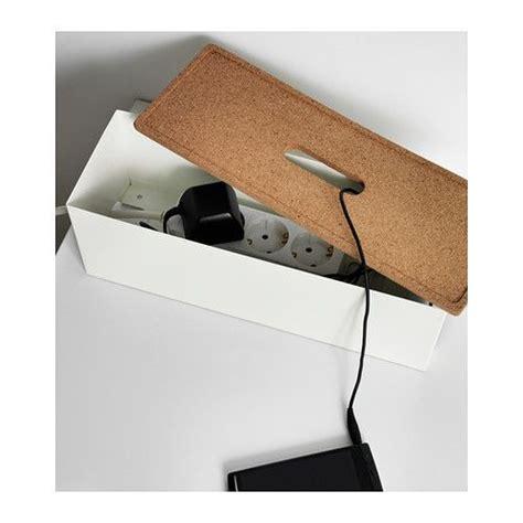 klapp schreibtisch ikea 20 ideas geniales para organizar cables y enchufes en casa