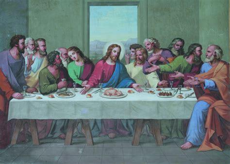 la ultima cena de jesus y sus discipulos general laliturgia org