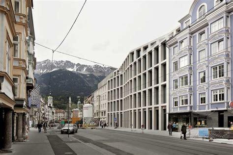 kauf haus kaufhaus tyrol innsbruck austria store e architect