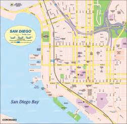 Map San Diego by San Diego California Map