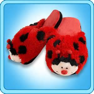 slippers ms ladybug slippers my pillow pets 174 the