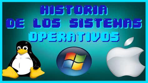 imagenes de sistemas operativos virtuales historia de los sistemas operativos youtube