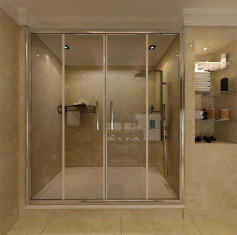 Shower Tray And Sliding Door by Shower Enclosure Sliding 6mm Glass Door Cubicle Screen Side Panel Tray Ebay
